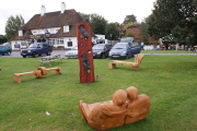 <h5>Collection of handcrafted benches &amp; sculpture</h5>