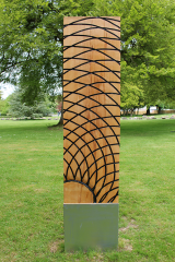 <h5>Standing Wood Sculpture</h5>