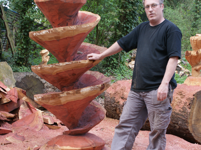 Wood Sculptor, UK, United Kingdom, Wood Carver, Chainsaw carvings