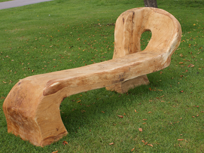 Public Bench, Handcarved, Hampshire Weddings, Utopian Tents, Brian Roscoe